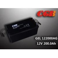 Buy cheap Reliable safe 200AH GEL Series 12V Lead Acid Battery Rechargeable No leaking from wholesalers