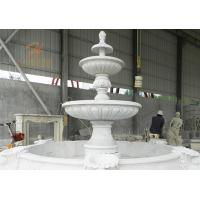 Buy cheap Classical Outdoor Large Carving Marble Water Fountain from wholesalers