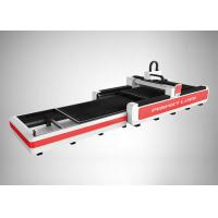 Buy cheap Steel Plate Fiber Laser Cutting Equipment Water Cooled Automatic Exchange Platform from wholesalers