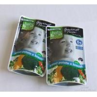 Buy cheap Custom Printed Stand Up Pouches With Window OPP / PET / AL / PE / CPP Material from wholesalers