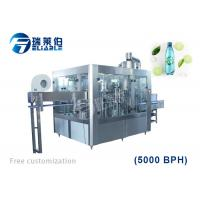 Buy cheap 4000BPH CSD Carbonated Drink Filling Machine Soft Drink Bottle Rinsing Capping from wholesalers