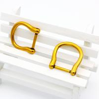 Buy cheap Metal handbag buckles OEP D ring,d shape adjustable buckle for leather from wholesalers