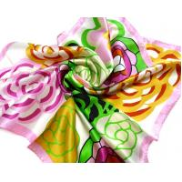 Buy cheap Fashion Silk Print Square Scarf (S05) from wholesalers