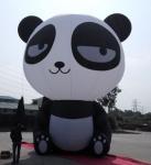 Buy cheap Oxford Cloth Inflatable Panda , Custom Inflatable Products Cartoon Inflatable Pet from wholesalers