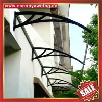 Buy cheap excellent waterproofing home house window door rain sun diy pc polycarbonate awning canopy canopies shelter cover kits from wholesalers