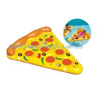 Buy cheap Summer Water Float Pizza 1.8X1.5M Inflatable Ride-On Float Inflatable Swim Ring from wholesalers
