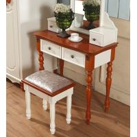2017 latest dressing table with mirror antique dressers for Cheap antique style mirrors