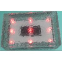 LED Solar Powered Crystal Waterproof Solar Ice Rocks Light LED Solar Ice Brick Light