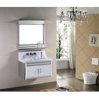 Buy cheap 2014 New Design High Quality&Cheap Modern Mirrored Stainless Steel Bathroom Cabinet from wholesalers