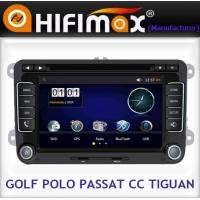 Buy cheap VW Golf double din in dash touch screen car dvd player with gps system from wholesalers