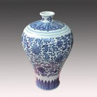Buy cheap jingdezhen antique blue and white ceramic porcelain vase for cheap wholesale from wholesalers