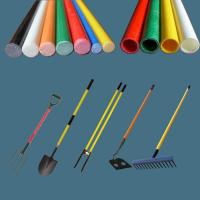 Buy cheap Fiber glass tube/pipe for post hole digger, post hole digger long fiberglass handle from wholesalers
