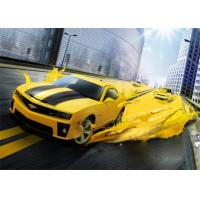 Buy cheap Yellow Pure Polyurea Elastomeric Automotive Spray Painting High Adhesive Strength from wholesalers