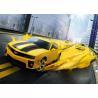 Yellow Pure Polyurea Elastomeric Automotive Spray Painting High Adhesive Strength