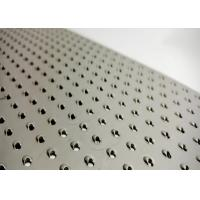 Buy cheap Galvanized Perforated Metal Sheet Customized Hole Shape Medium Size 2 Meters Long from wholesalers