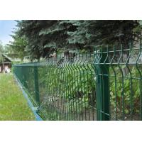 Buy cheap artifical garden galvanized PVC plastic welded wire fence mesh panel from wholesalers