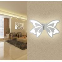 Buy cheap Butterfly Acrylic IP40 LED wall light /indoor led wall lamp for living room from wholesalers