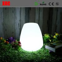 Buy cheap RGB LED Colors Plastic Home Garden Decor Small Table Fashion Night Lights Led Lantern from wholesalers