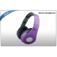 Buy cheap Media Player Portable Stereo Headphones , surround sound headphones product
