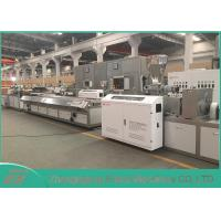 Buy cheap CE / SGS Approved WPC Profile Extrusion Line With SIEMENS Motor Brand from wholesalers