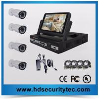 Buy cheap 7inch LCD 720P 4ch AHD dvr kit Analog HD camera system from wholesalers