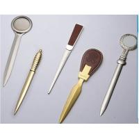 Buy cheap Popular zinc alloy gold / silver metal letter opener for promotion from wholesalers