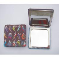 Buy cheap Leather pocket mirror,  mirror with leather cover product