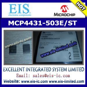 Buy cheap MCP4431-503E/ST - MICROCHIP - 7/8-Bit Quad I2C Digital POT with Nonvolatile Memory product