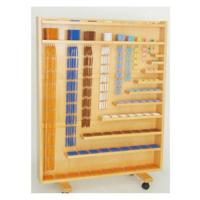 montessori bead material with bead cabinet of bstwooden