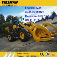 Buy cheap brand new small tractor front end loader  LG918 with log grapple , sdlg 1ton wheel loader, chinese wheel loader for sale from wholesalers