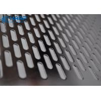 Buy cheap Stainless Steel Decorative Wire Mesh For Cabinet Doors Hole Perforated Metal Sheet from wholesalers