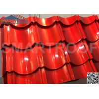 Buy cheap 1m Wide Synthetic Plastic Metal Roof Sheets 0.526mm Thickness Easy Foaming from wholesalers