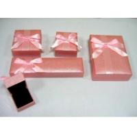 Buy cheap Plastic Jewelry Boxes Sets with Bow product