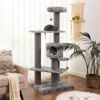 Buy cheap High End Cool Cat Climbing Tree , Luxury Cat Furniture Durable Environmental Friendly from wholesalers