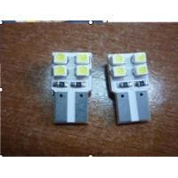 Buy cheap T10 - 8 SMD car LED Headlight Bulbs with red, yellow, green, blue, white product