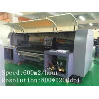 Hometextile Printing Large Format Digital Printing Machine 3.2M Epson Head
