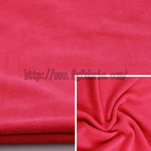 Buy cheap Plain Spun Polyester Polar Fleece Spun Yarn Polar Fleece Polyester Terry Fleece KFE-032 product