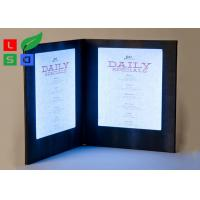 Buy cheap Customized Made LED Shop Display Stain Resistant For Restaurant Menu Display from wholesalers