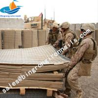 Buy cheap high quality hesco barrier gabion baskets galvanized welded gabion military barrier for sale from wholesalers