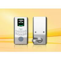 Buy cheap Hotel Electric Biometric Fingerprint Door Lock With Illuminated Keypad from wholesalers