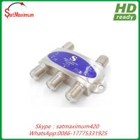 Buy cheap Supermax New Wideband 4x1 DiSEqC 2.0 Satellite Switch FTA Dish LNB from wholesalers