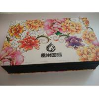 Buy cheap cardboard paper box, paper packaging box,velvet flocking paper box from wholesalers