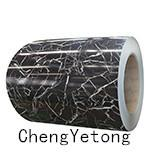 Buy cheap Color Coated Stainless Steel Strip Coil Stone Grain For Interior Decoration Material product