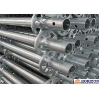 Buy cheap Q345 Steel Ringlock Scaffolding System For Contracting Work , HDG Finishing product