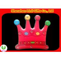 Buy cheap LED lights scrolling flashing crown badge OEM logo is good for promotion  from wholesalers
