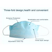Buy cheap Pharmacy Face Mask , Anti Fog Face Mask Laboratory Daily Use High Efficiency from wholesalers