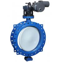 Motor Driven Electric Butterfly Valve For Cool Hot Water