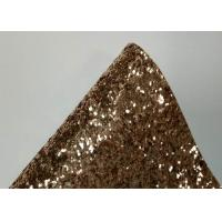 Buy cheap Hunky Textile Chunky Glitter Fabric Roll Wall Coverings Champagne Color product