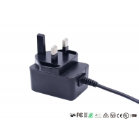 Quality CE GS Certificate UK Plug 12V 1A AC DC Power Adapter For Router for sale
