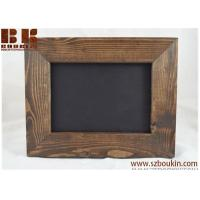 Buy cheap Kona Dark Brown / Picture Frame / wood frame / Rustic frame / Pick stain color / 4x6 frame, 5x7 frame, 8x10 frame from wholesalers